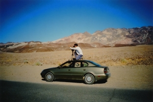 On the road in Death Valley, California, USA. (Photo by Francesco Figari)