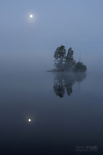 SII0915_0125_Reflecting moon in the fog (Finland)