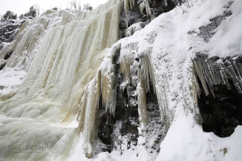FIN0219_0166_Ice fall in Korouoma gorge (Finland)