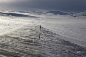 NOR0313_0265_Towards Cape North in winter (Norway)