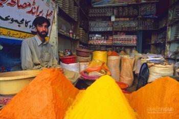 PAK0704_0327_Spice market in Skardu (Pakistan)