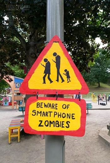 STO0618_0695_Beware of smart phone zombies (Sweden)