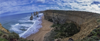 AUS0203_0770_The Twelve Apostles (State of Victoria, Australia)