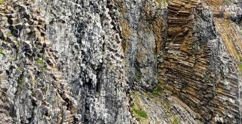 FJL0819_0764_Basalt columns on Rubini promontory (Franz Josef Land, Russia)