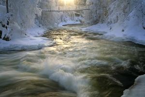 FIN0209_0358_River Kitkajoki at Myllykoski rapids (Northern Finland)