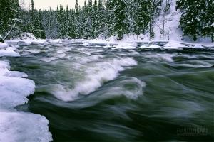 FIN0208_0378_The Aallokkkoski rapids of Kitkajoki river (Northern Finland)