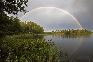 FIN0818_0409_Afternoon rainbow (Southern Finland)