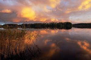 FIN0914_0415_Midsummer sunset (Finland)