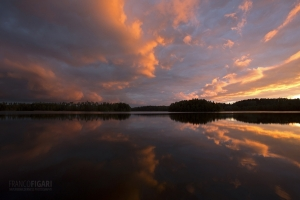 FIN0914_0423_Sunset before rain (Southern Finland)