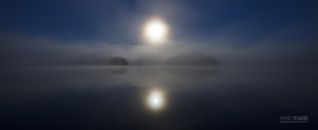 FIN0815_431_Full moon in the fog (Souhtern Finland)